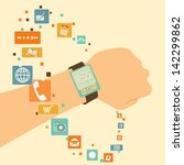 vector innovation watch  rich... | Shutterstock .eps vector #142299862