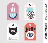 doodle vector tags collection....