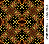 African Background Tribal Styl...