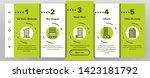dwelling house  condo... | Shutterstock .eps vector #1423181792