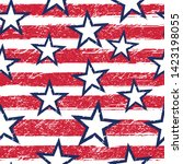 july 4th independence day... | Shutterstock .eps vector #1423198055