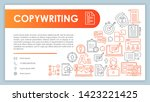 copywriting  banner  business...