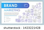 brand marketing banner ...