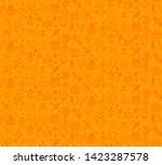 desert plants vector seamless... | Shutterstock .eps vector #1423287578