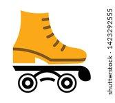 roller skate icon. flat...   Shutterstock .eps vector #1423292555