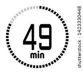 the 49 minutes countdown timer...