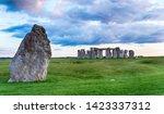 Dusk Over Stonehenge Near...