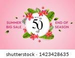 summer sale banner  design... | Shutterstock .eps vector #1423428635