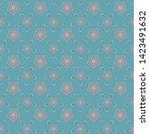 heart pentagon star and... | Shutterstock .eps vector #1423491632