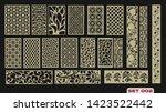 modern decorative set 2 for...   Shutterstock .eps vector #1423522442