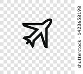 flight icon from miscellaneous... | Shutterstock .eps vector #1423658198