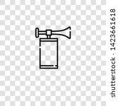 air horn icon from event... | Shutterstock .eps vector #1423661618