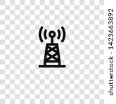 antenna icon from  collection... | Shutterstock .eps vector #1423663892