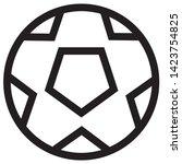 football icon vector  ball icon ...