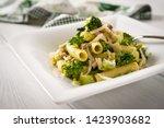 Dish Of Italian Pasta With...