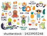 Big Summer Set With Cute...