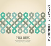 abstract retro background.... | Shutterstock .eps vector #142391206
