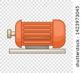 electric motor icon. cartoon... | Shutterstock .eps vector #1423973045