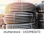 warehouse of finished products...   Shutterstock . vector #1423982672