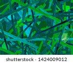 bauhaus seamless pattern....   Shutterstock . vector #1424009012