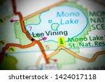 Lee Vining. California. Usa On...