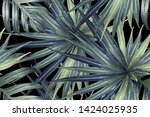 green red exotic pattern....   Shutterstock .eps vector #1424025935