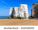 Chalk Cliffs At Botany Bay...