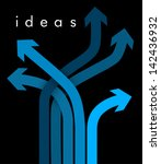 ways of ideas | Shutterstock .eps vector #142436932