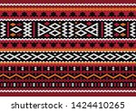 illustration of a seamless... | Shutterstock .eps vector #1424410265