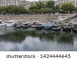 paris  france   may 21  2019 ... | Shutterstock . vector #1424444645