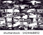 distressed background in black... | Shutterstock . vector #1424468852