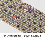 isometric vector illustration... | Shutterstock .eps vector #1424532875