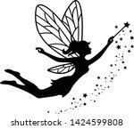 beautiful fairy silhouette...