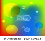 bright blend texture picture.... | Shutterstock .eps vector #1424629685
