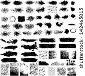 vector large set of modern... | Shutterstock .eps vector #142465015