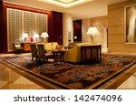 luxury lobby for five stars...   Shutterstock . vector #142474096