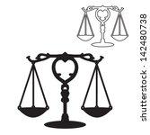 Scales Of Justice Symbol...