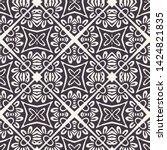 Hand Drawn Mosaic Tile Shape....