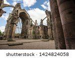 Ruin Of Melrose Abbey In The...