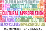 cultural appropriation word... | Shutterstock .eps vector #1424832152