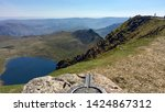 Striding Edge From Helvellyn...