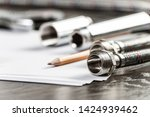 new flexible hydraulic system... | Shutterstock . vector #1424939462