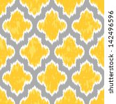 Geometric Ikat Background...
