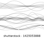 design elements. wave of many... | Shutterstock .eps vector #1425053888