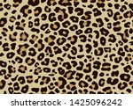leopard pattern design. animal... | Shutterstock .eps vector #1425096242