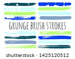 paint lines grunge collection.... | Shutterstock .eps vector #1425120512