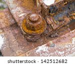 Close Up Of A Rusted Railway...
