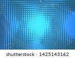 beautiful blue abstract...   Shutterstock . vector #1425143162
