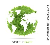 save our earth | Shutterstock .eps vector #142521145