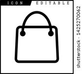 bag icon isolated sign symbol... | Shutterstock .eps vector #1425270062